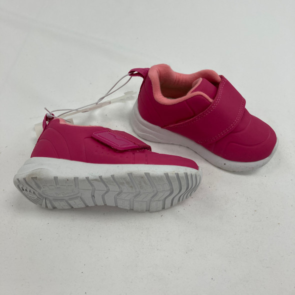 Two Toned Velcro Sneakers 5
