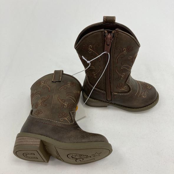 Chloe Classic Cowboy Western Boots 5