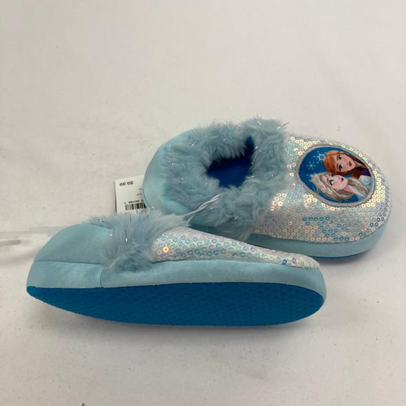 Disney Frozen Ballet Slippers Large 9/10