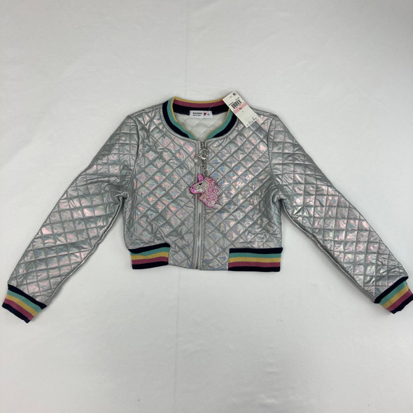 Quilted Bomber Jacket 10 yr