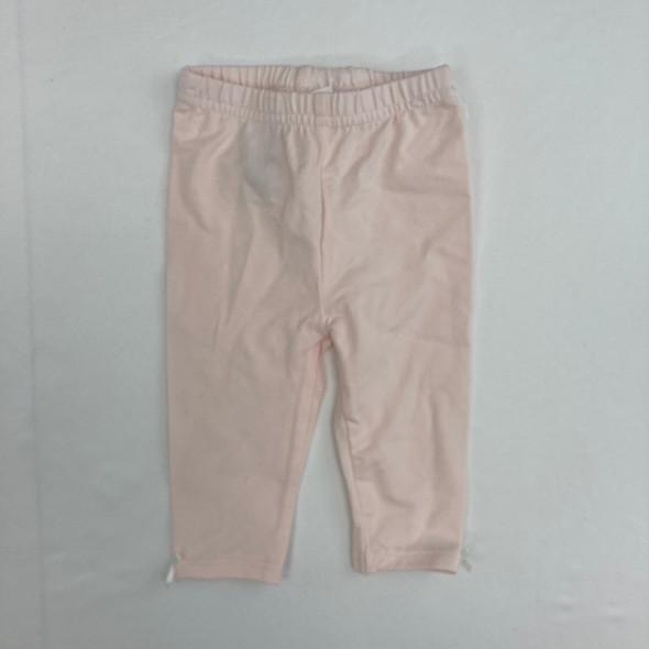 Light Pink Leggings 0-3 mth