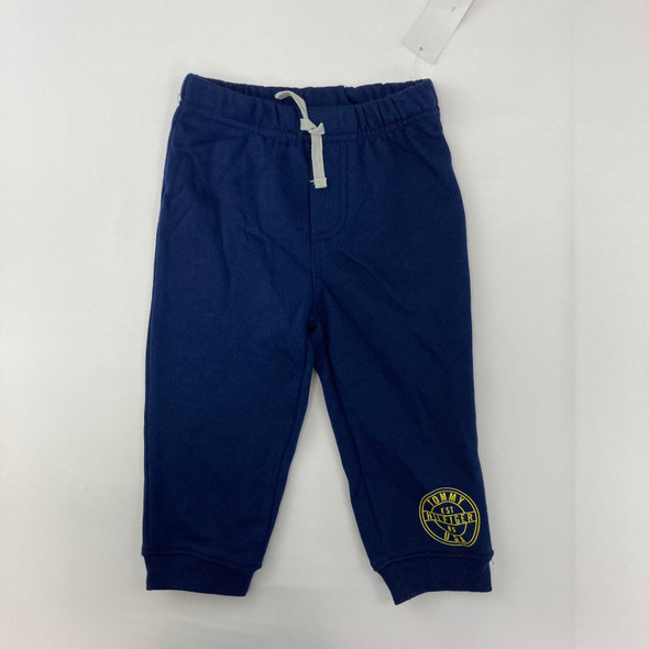 Navy Solid Joggers 18 mth