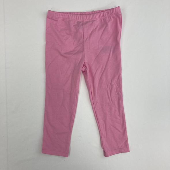 All Pink Leggings 2T