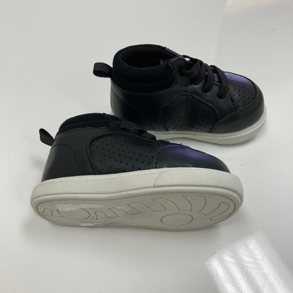 Black High Top Sneakers 2