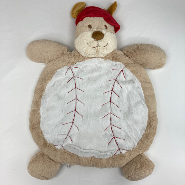 Soft Cozy Baseball Puppy Mat