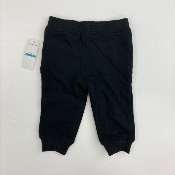 Black Sweats 6-9 mth