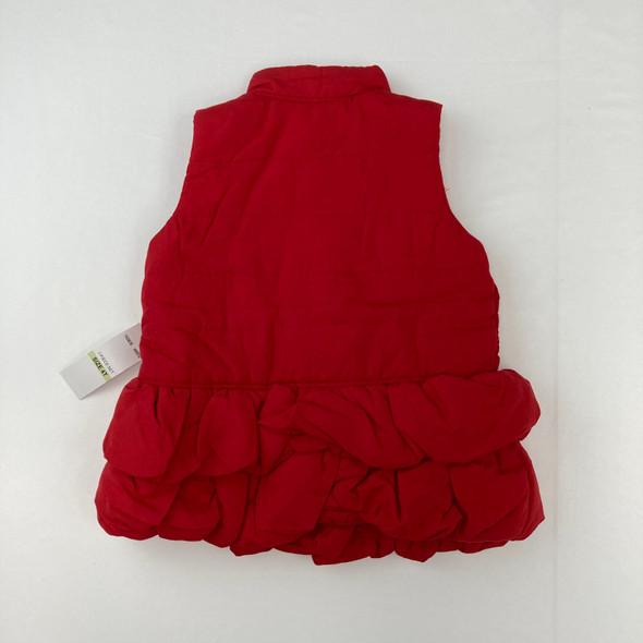 Cherry Red Vest 4T