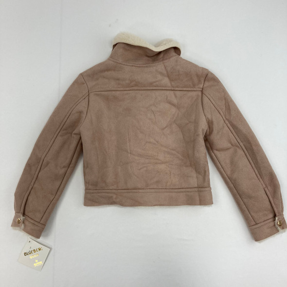 Taupe Suede Jacket 5 yr