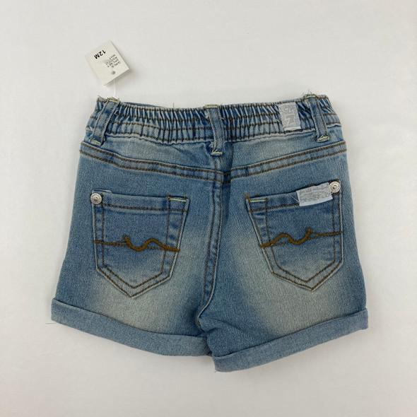 Denim Shorts 12 mth