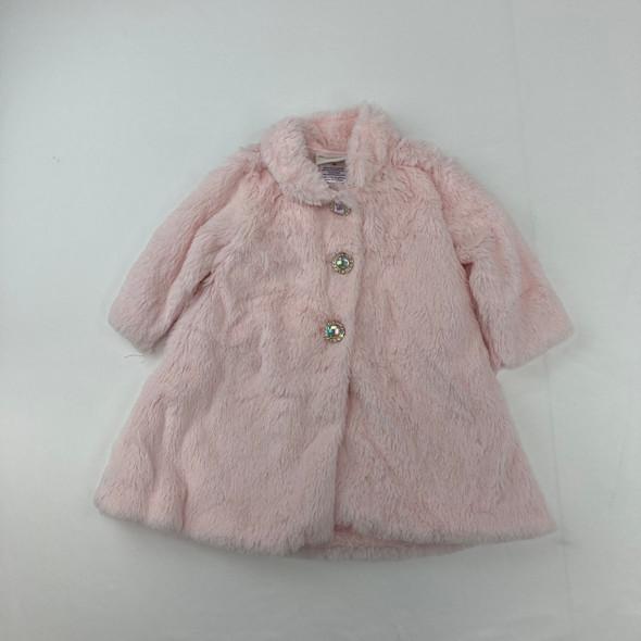 Furry Coat Dress 12 mth