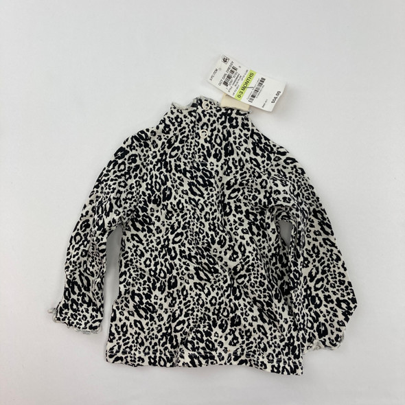 Leopard Top 0-3 mth