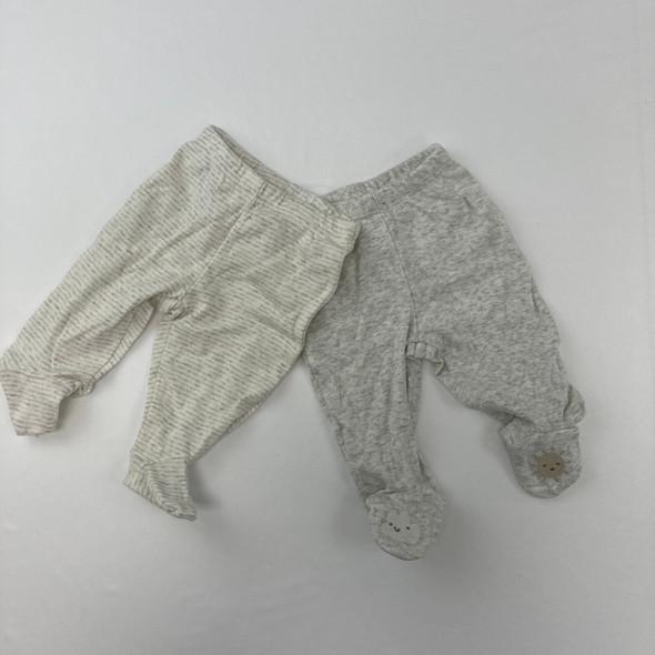 Footed Bottoms 2-pc Newborn