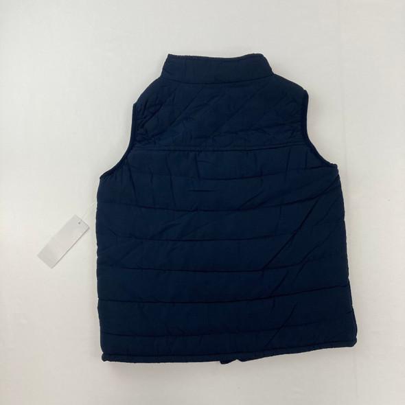 Solid Blue Jacket Vest 5 yr