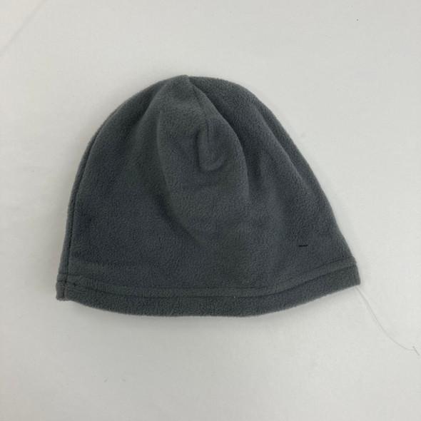 Solid Gray Fleece Hat