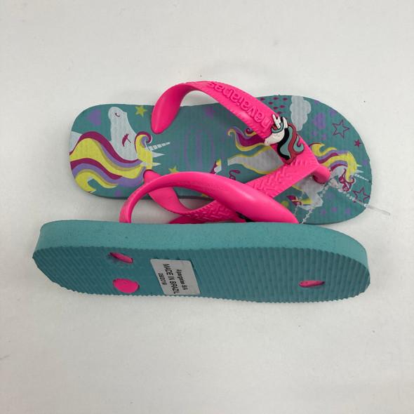 Unicorn Flip Flops 25-26
