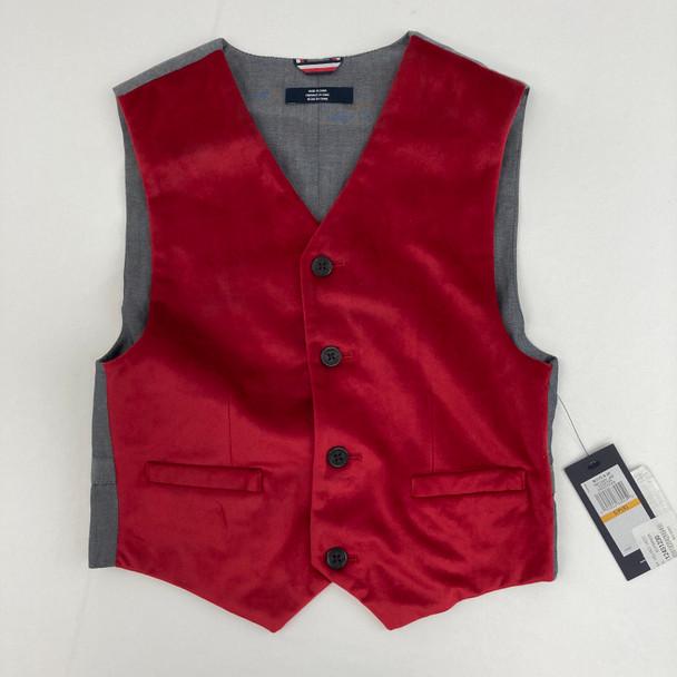 Holiday Velvet Vest Small