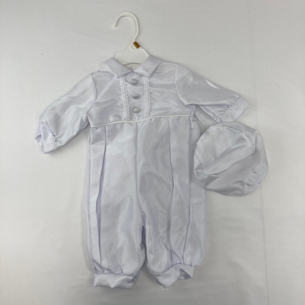 Christening Outfit 1-pc 0-3 mth