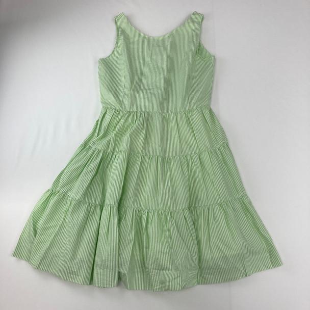 Green Stripe Dress 16 yr