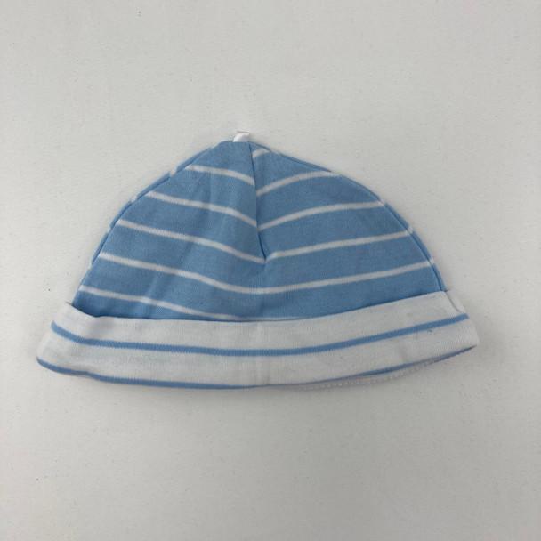 Blue Striped Hat 3 mth