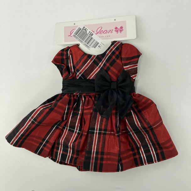 Red Plaid Doll Dress