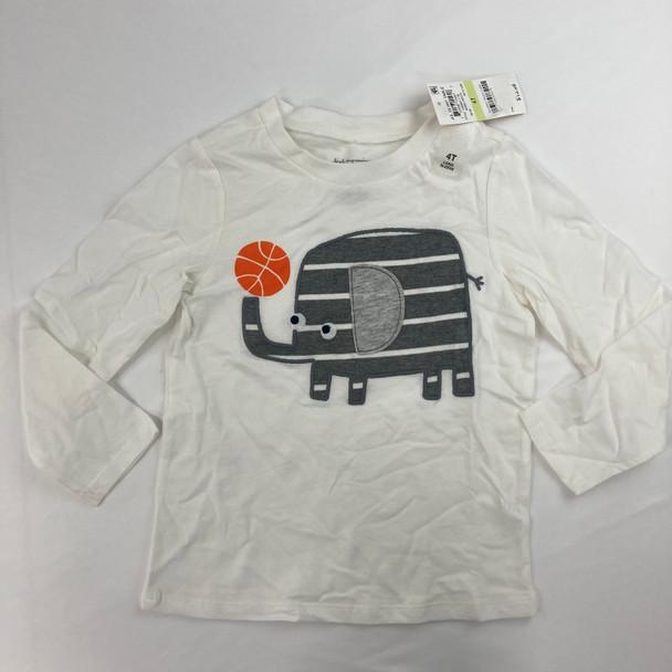 Elephant Basketball Tee 4T