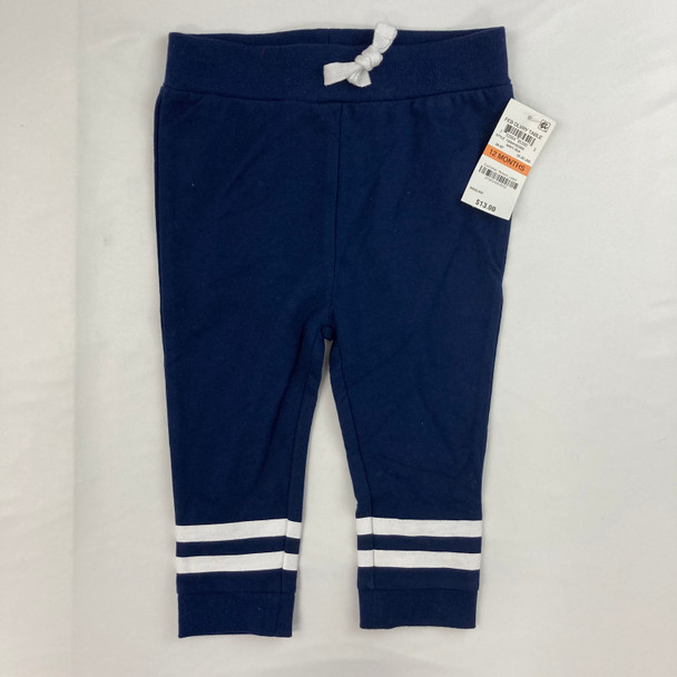 Athletic Navy Joggers 12 mth