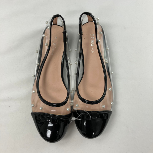Pearl Bow Slip-on Shoes 3Y