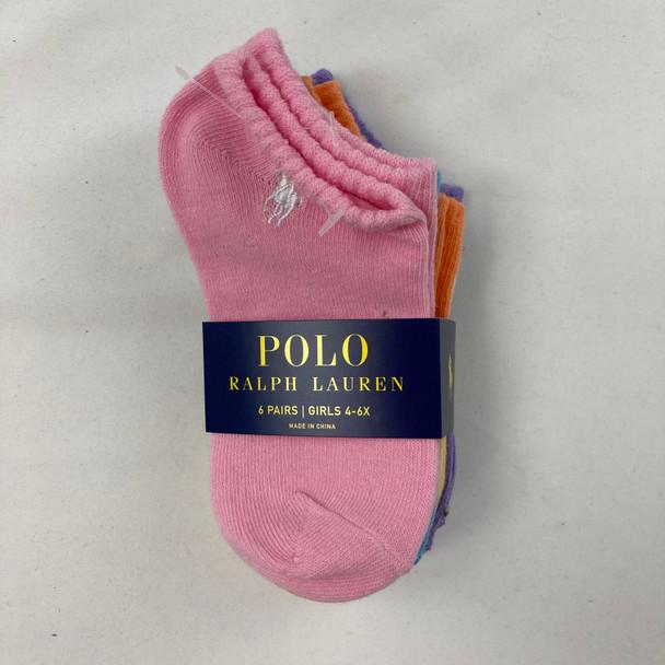 Rainbow Ankle Socks 5-pk 4-6X