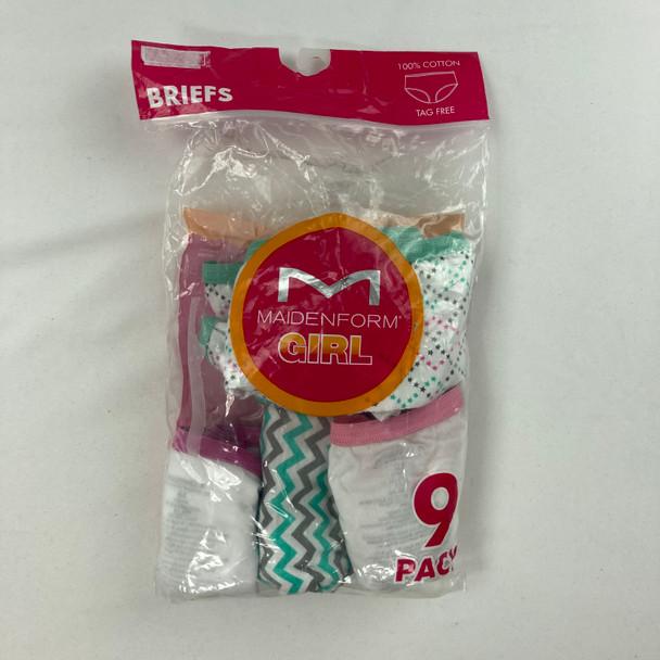 5-pk Patterned Underwear 10 yr