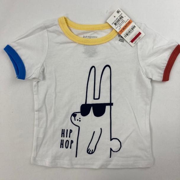 Hip Hop Bunny Tee 12 mth