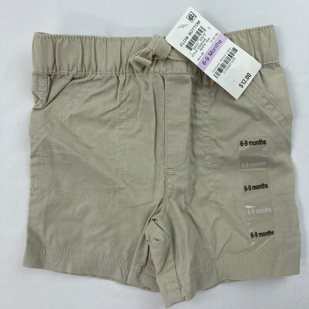 Woven Solid Shorts 6-9 mth