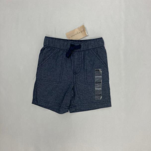 Dark Chambray Shorts 6-9 mth