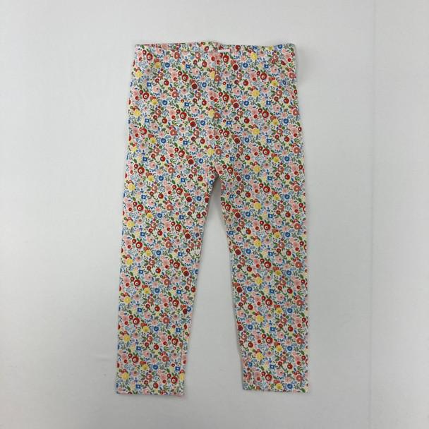 Floral Print Legging 2T