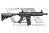 Classic Army Full Metal M4 Vehicle Crewman Weapon AEG Airsoft Rifle, Black