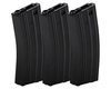 Lancer Tactical 300 Round Metal M4 High Capacity Magazine, Gen 2, Black, 3 Pack