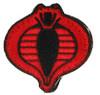 UKARMS Cobra Commander Velcro Patch (Black/Red)