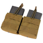 Condor MOLLE Double Open-Top M14 Mag Pouch, Coyote