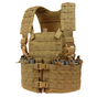 Condor MOLLE Modular Chest Rig/Hydration Carrier, Coyote