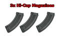 Full Metal AK47 AEG Starter Kit, 3 Hi Cap Mags, Smart Charger, Chest Rig, Goggles, 3k BBs, 380 FPS