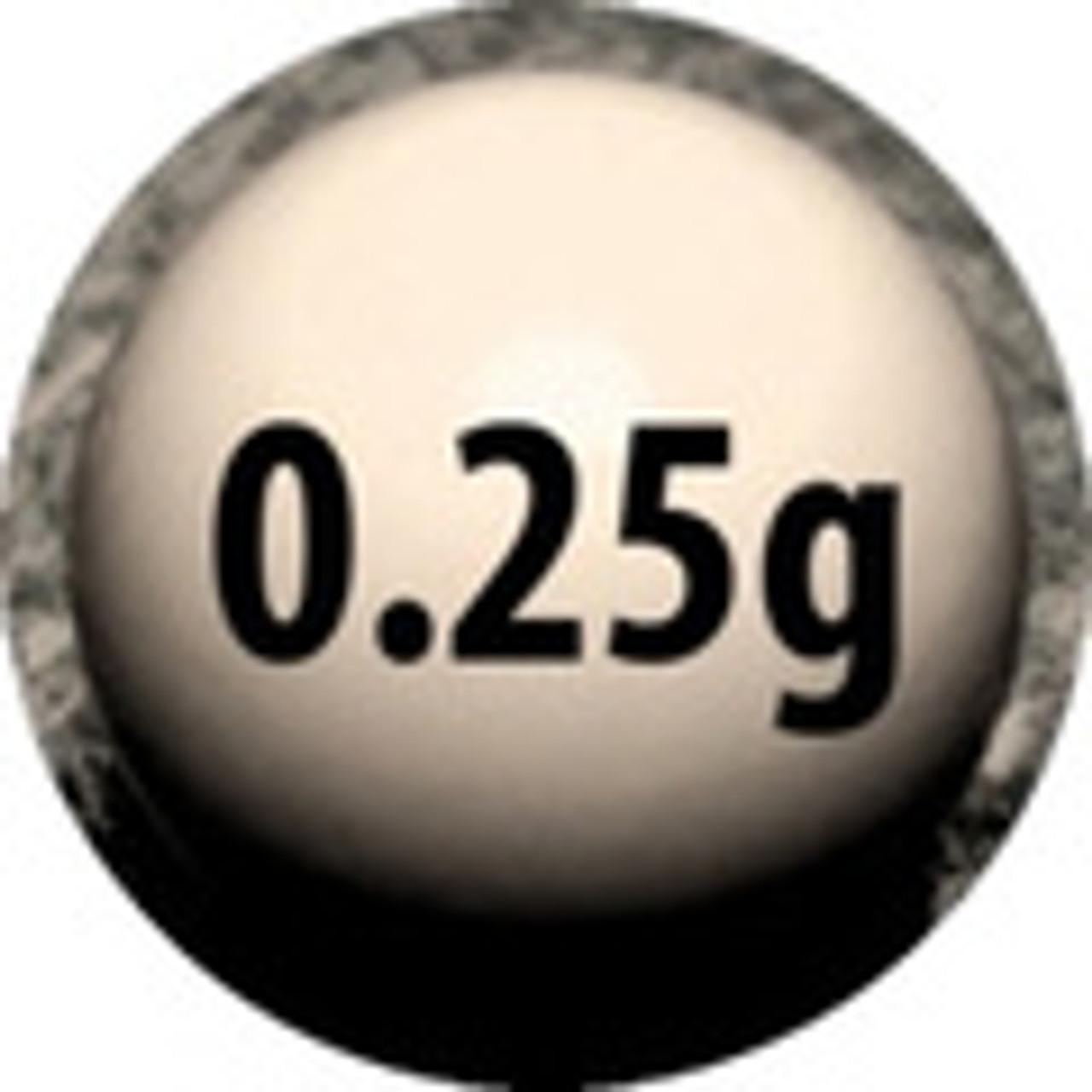 0.25 gram