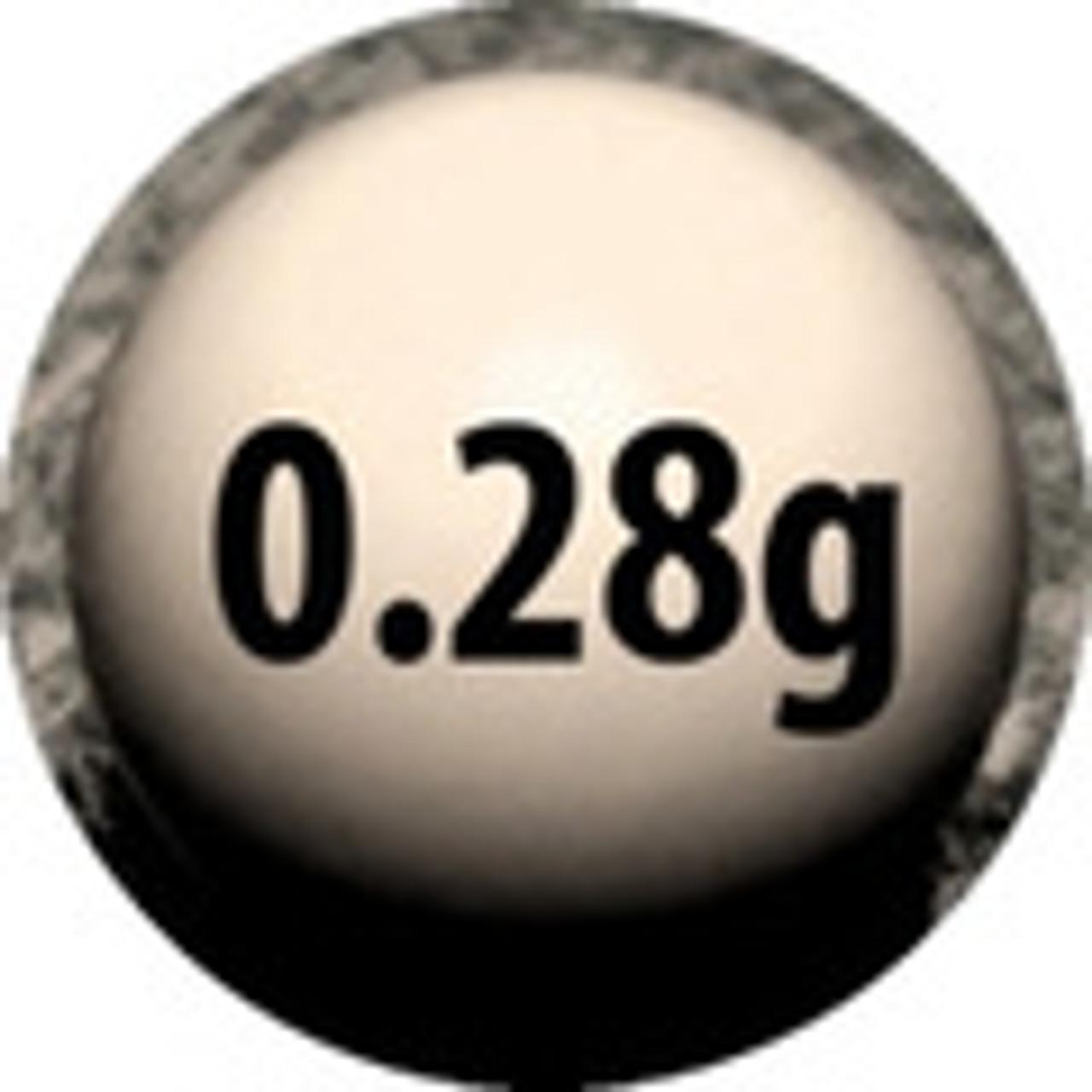 0.28 gram