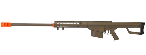 Lancer Tactical M82 .50-Cal Spring Airsoft Sniper Rifle, Tan