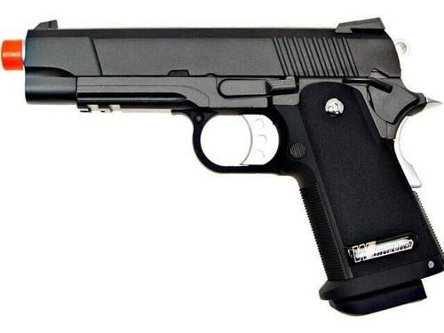 WE Hi-Capa 4.3/3.8 Hybrid Full Metal Semi Auto Gas/CO2 Blowback Pistol