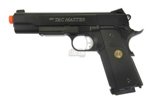STI Tac Master Metal Gas Blowback Airsoft Pistol - REFURBISHED