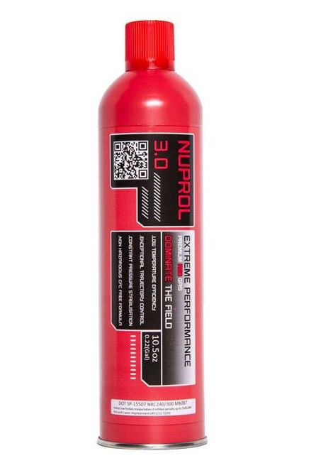 Nuprol 3.0 Premium Green Gas, 10.5oz Red Gas Can