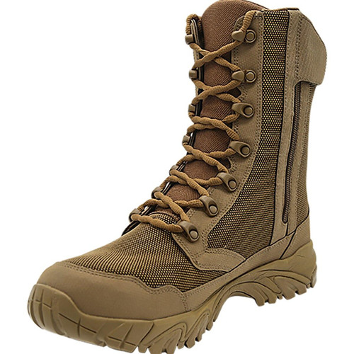 Altai 8 Side Zip Waterproof SuperFabric Mesh Tactical Boots, Brown