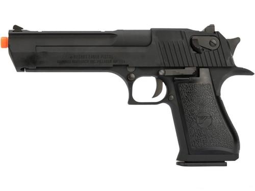 We-Tech Magnum Research Desert Eagle .50AE Gas Blowback Pistol, Black