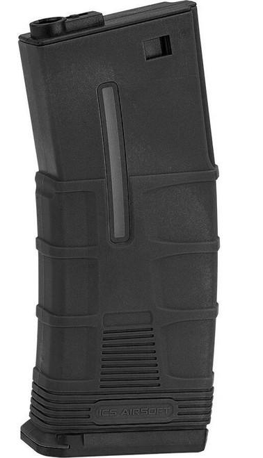ICS T Tactical 120rd Mid-Cap Magazine, Black