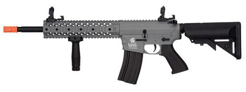 Lancer Tactical Gen 2 EVO M4 10 Free Float RIS AEG Airsoft Rifle, Grey