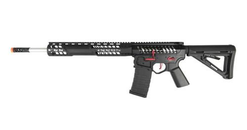 EMG F-1 Firearms BDR-15 3G AR15 Full Metal Magpul AEG Airsoft Rifle, Black / Red
